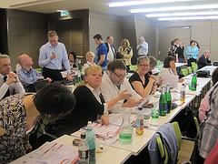 AUGE/UG Delegierte zum Wiener Regionalforum