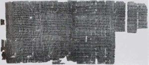 Der erste dokumentierte Streik der Menschheitsgeschichte im ägyptischen Arbeiterdorf Deir el-Medina, der im 29. Regierungsjahr von Ramses III. am 10. Peret II (4. November) 1159 v. Chr.[A 1] begann.