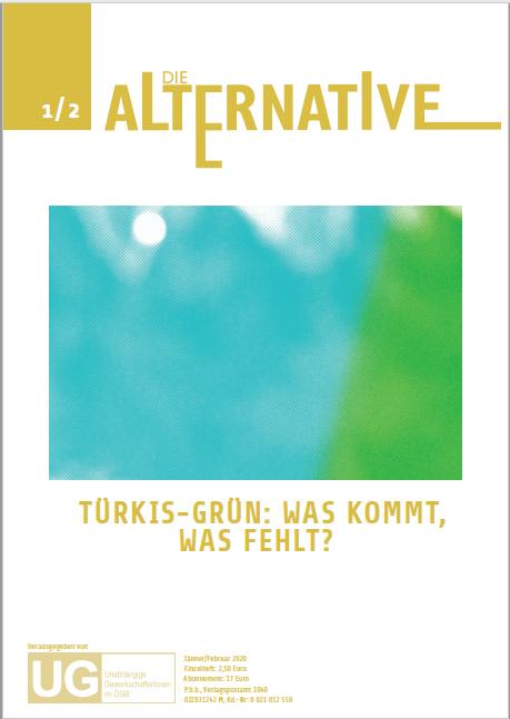 Die Alternative Jänner/Februar 2020